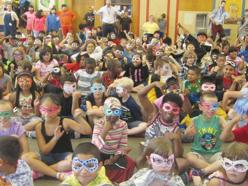 The library's Summer Reading program entices kids to read for pleasure when school is not in session.