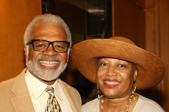 Woodie King Jr.'s New Federal Theatre recently held a festive gala benefit at Trump Place, 220 Riverside Blvd., honoring Novella ...