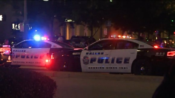 Shooters killed five officers at a protest over police violence in downtown Dallas, sending screaming crowds scrambling for shelter and ...