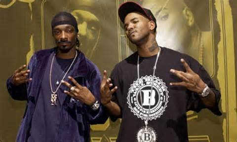 Rappers Snoop Dogg and The Game led a peaceful demonstration today outside a Los Angeles Police Department recruit graduation in ...
