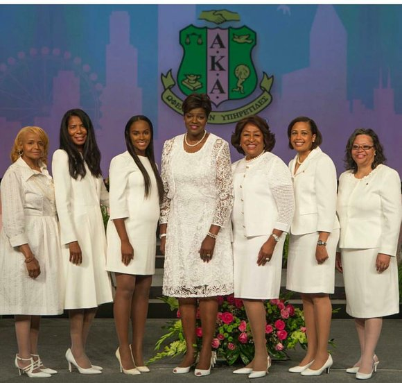 Alpha Kappa Alpha Sorority, Incorporated® (AKA) has inducted Breast Cancer Champion Karen Eubanks Jackson, Ambassador Susan Denise Page, Attorney Judy ...