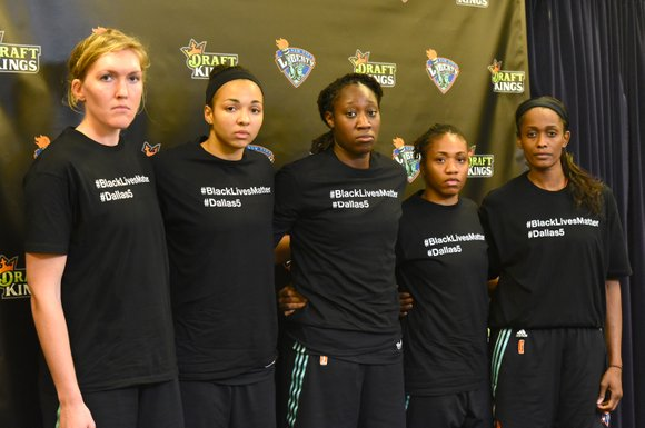 Sunday afternoon, the New York Liberty pulled out a 75-65 win over a scrappy San Antonio Stars team. F