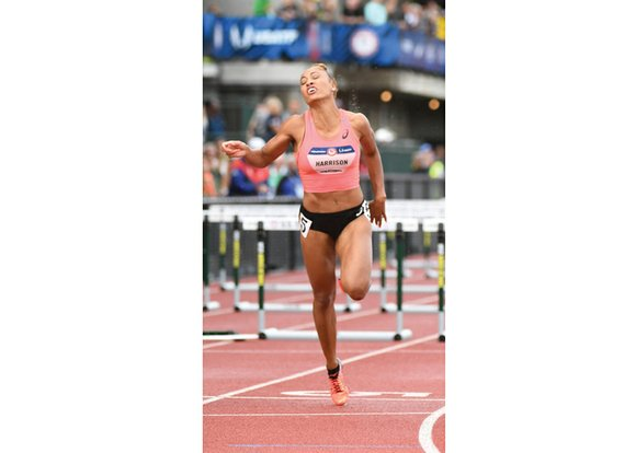 If she were from any other country, Queen Harrison likely would be making plans to compete in the Summer Olympics ...