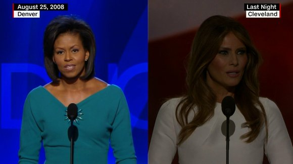 Donald Trump's campaign manager denied allegations Tuesday that Melania Trump plagiarized a Michelle Obama speech on the first night of ...