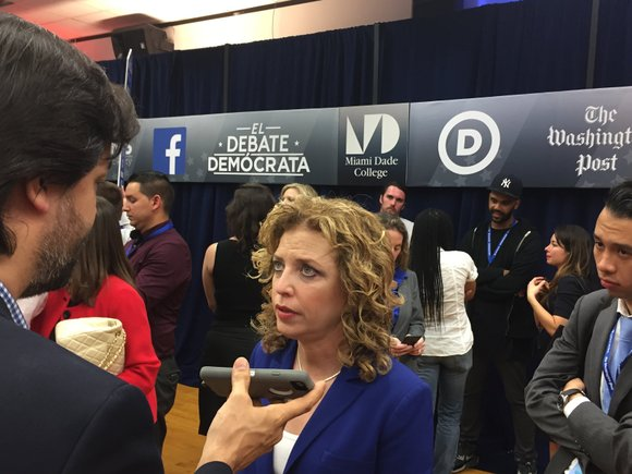 Debbie Wasserman Schultz announced Sunday she is stepping down as chairwoman of the Democratic National Committee at the end of ...