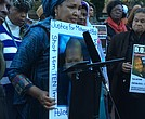 Hawa Bah demands justice for the police killing of her son.