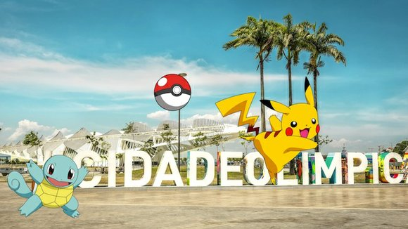 It's not an official sport, but Pokemon Go will be played in Rio during the Olympics. The hugely popular augmented ...