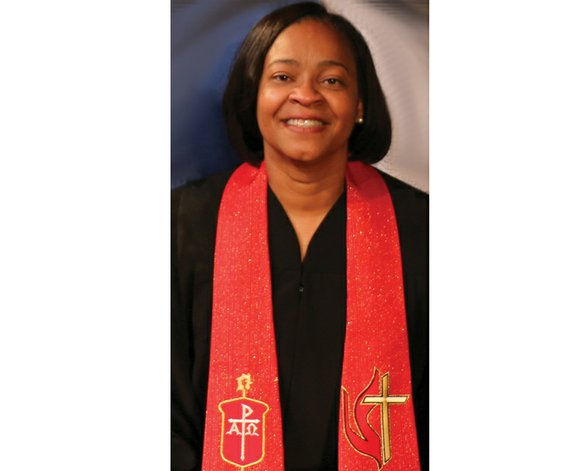 Bishop Sharma D. Lewis, the first African-American woman to be elected a bishop in the United Methodist Church's Southeastern Jurisdiction, ...