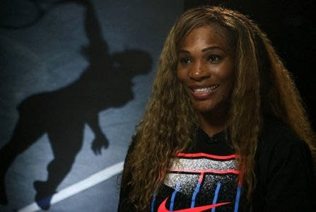 Serena Williams rewrote tennis history books once again, this time with sister Venus across the net and her fiance Alexis ...