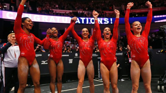 The first set of results is in, and it's confirmed: The US women's gymnastics team is that good. And barring ...