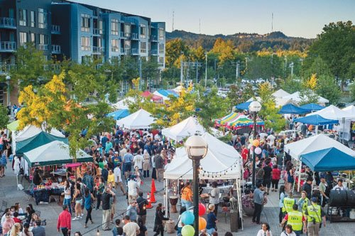 The Beaverton Night Market will return on Saturday, Aug. 13 from 6 to 10 p.m. at The Round.