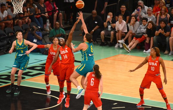 As expected, the U.S. Olympic Women's Basketball Team dominated its opening games in Rio. Sunday, the U.S. team won a ...