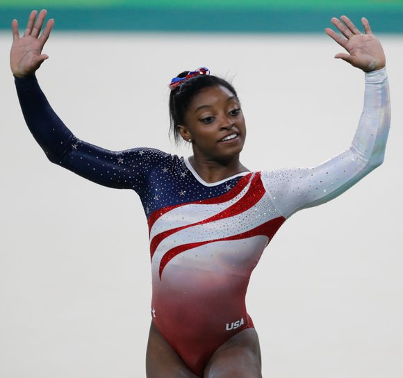 For anyone who doubted her, it's official: US Olympic gymnast Simone Biles is #1.