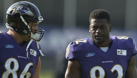 Ravens TE Benjamin Watson is settling in with his new team | The ...