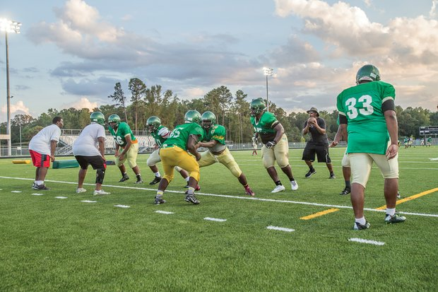 Huguenot High School's varsity team now features several players who have moved up from the junior varsity squad.