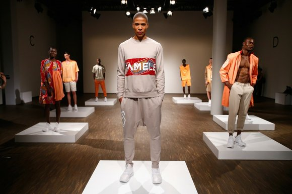 Recently at the Mercedes-Benz Fashion Week Berlin's spring/summer 2016 shows, emerging designer Alexandra Tamale made a strong fashion statement with ...