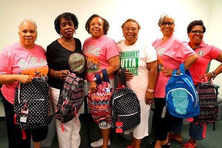 It's back-to-school time and thanks to Epsilon Omega Chapter of Alpha Kappa Alpha Sorority and Epsilon Omega Foundation, 700 Baltimore ...