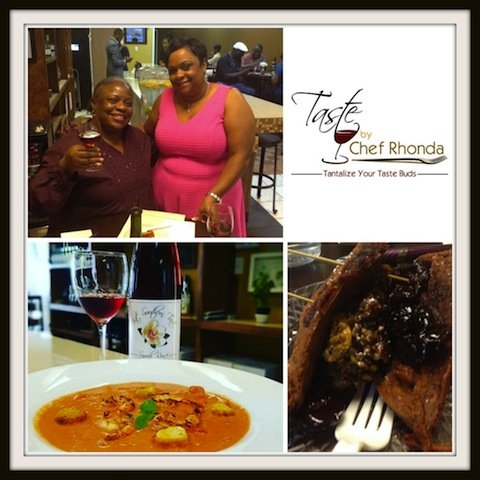 A crowd of foodies and wine lovers gathered at 9411 Richmond Avenue in Houston to watch Food Network's Cooks Vs. ...