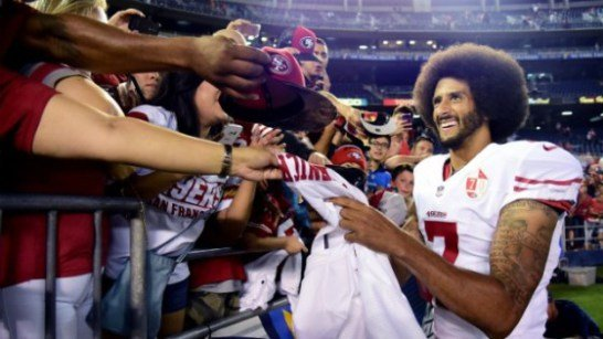 In the midst of controversy over his protest of the national anthem, Colin Kaepernick is using the spotlight to address ...