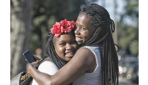 At 7:35 a.m. Tuesday, sixth-grader Ayanna Street and her mother, Yakysha Langhorne, stood excitedly outside Westover Hills Elementary School waiting ...