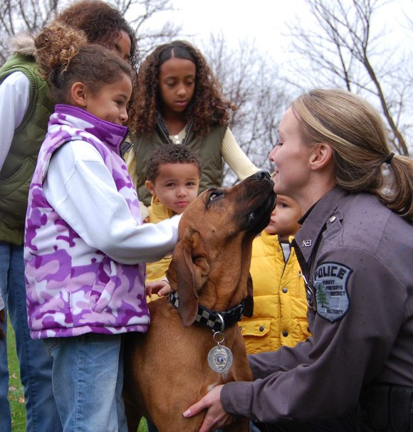 Rosie served as the search and rescue dog for the Forest Preserve District of Will County starting in 2005. She ...