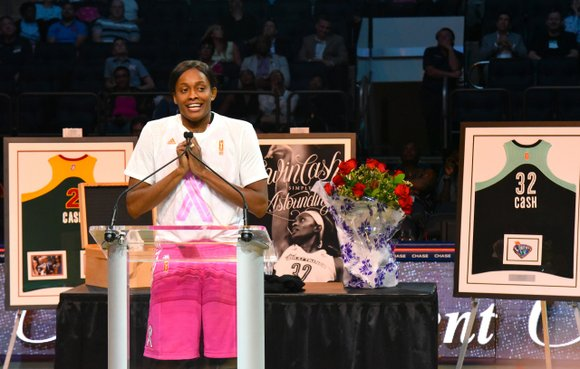 Even though the New York Liberty has locked in third place in the WNBA heading into the playoffs, the team ...