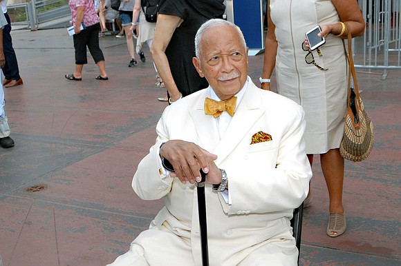 Former New York City Mayor David Dinkins passed away this Tuesday at the age of 93.