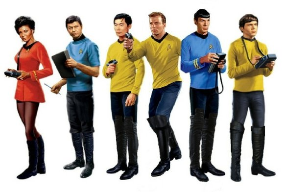 """As the iconic science fiction franchise """"Star Trek"""" celebrates its 50th anniversary, America is in many ways living in a ..."""