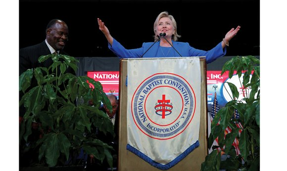 """Talking about one's faith doesn't come naturally to a """"Midwestern Methodist,"""" Hillary Clinton admitted."""