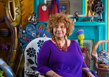 A profile of Baltimore-based multi-media artist Joyce J. Scott, who was honored last week with a national MacArthur Genius Award, ...