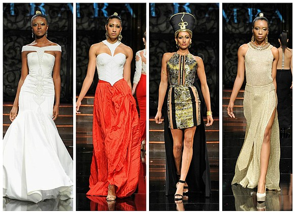 """The """"Rise of the Pharaohs"""" is the theme of Temraza's Spring/Summer '17 Collection. With her roots in Cairo, the designer's ..."""