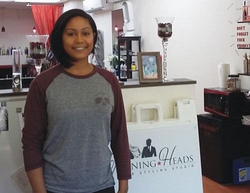 Turning Heads Hair Styling Studio has been serving customers for the last 10 years.