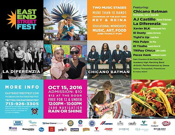 The Navigation Esplanade will once again host the East End Street Fest to be held October 15th, 2016 from Noon ...