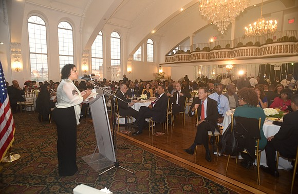 """Movers and shakers from the city's labor movement took center stage at the New York Amsterdam News' """"Tying Communities Together"""" ..."""