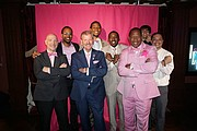 Real Men Wear Pink Ambassadors and supporters from the Bronx