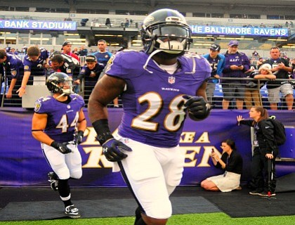 Through four games, the Baltimore Ravens averaged only 94.2 rushing yards per game— a far cry from the successful ground ...