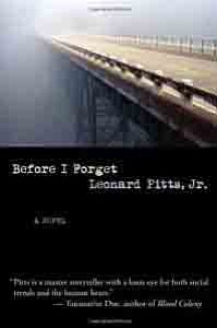 """The Palmdale Library African American Book Club will meet Oct. 18 to discuss """"Before I Forget"""" a novel by Leonard ..."""