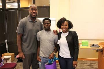 Even though it was the first football weekend in Baltimore, fathers and sons, uncles and nephews, mentors and mentees put ...