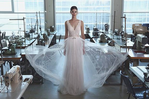 """Inspired by Parisian haute couture and its inimitable chic, the Lihi Hod 2017 """"Maison des Rêves"""" collection embodies luxury, precision, ..."""