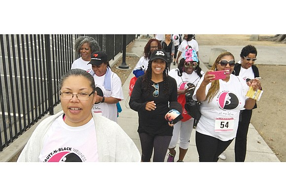 The Black BeautyShop Health Foundation is sponsoring Richmond's first Beauty-n-Motion 5K Walk Run 4 Life Health, Beauty and Wellness Expo ...