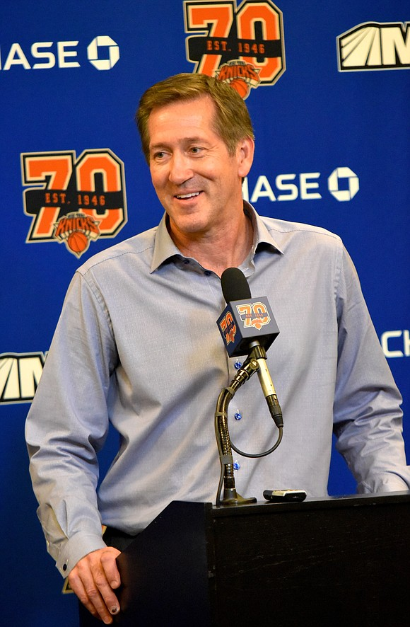 Last June, when Phil Jackson announced the hiring of Jeff Hornacek as the Knicks' new head coach, he had this ...