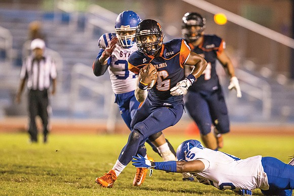 Virginia State University football fans traveling to Bowie State University on Saturday, Oct. 15, can expect to see two air ...