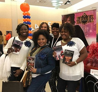 Excitement filled the air along with countless expressions of content and delight as authors, book lovers, book clubs and artists ...