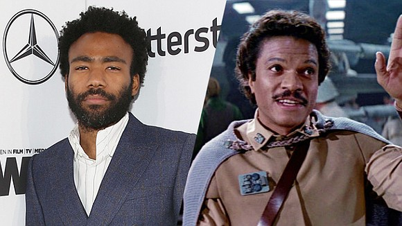 """Writer/Actor/Rapper Donald Glover (""""Atlanta"""", """"Community"""") has landed the coveted role of Lando Calrissian in the Han Solo stand-alone movie starring ..."""
