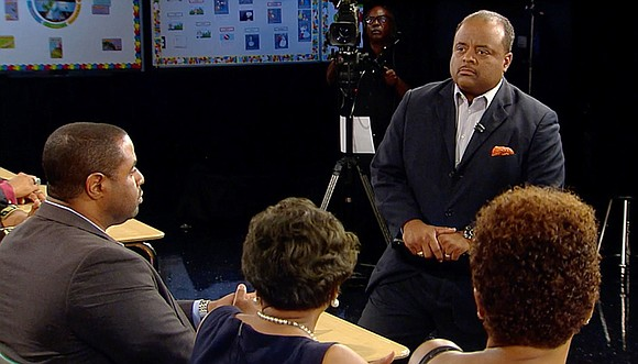 """""""Roland Martin Presents: Is School Choice the Black Choice?"""" on Friday, Oct. 21 at 7 a.m. ET. The town hall ..."""