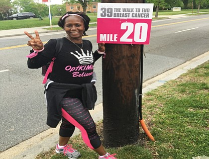 Kimberly Curtis has battled and overcome breast cancer.
