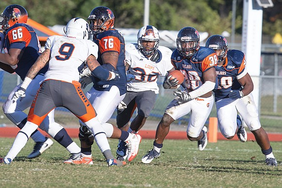 The first eight games of the Reggie Barlow coaching era at Virginia State University have gone well, earning at least ...