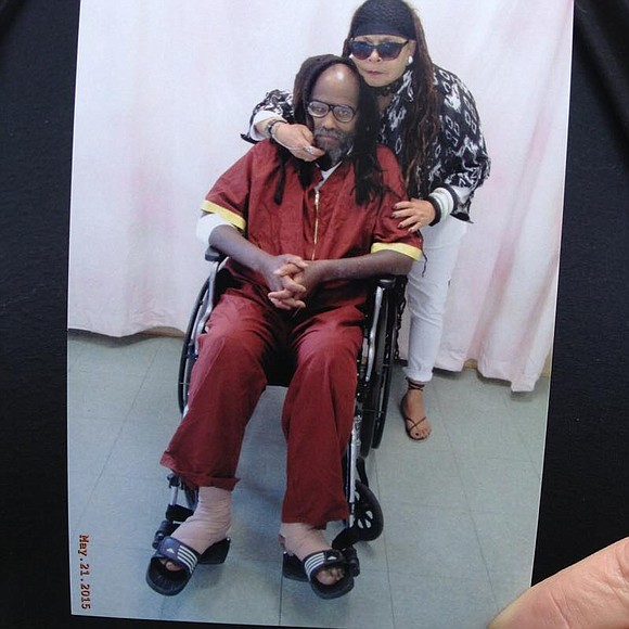 Supporters of world renowned political prisoner of war, Mumia Abu-Jamal, converged at Philadelphia's Friend's Center, 1500 Cherry St., last Friday ...