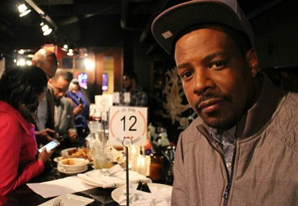 D.C. Comedian, Eddie Bryant at TV One  #NewsOneNow Election Night Watch Party