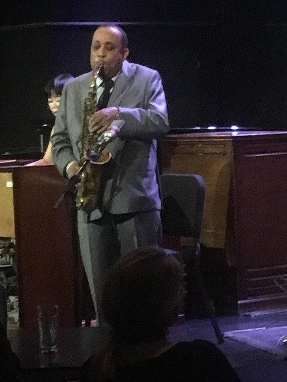 No one swings harder than Lou Donaldson on the alto saxophone, as he demonstrated last week celebrating his 90th birthday ...